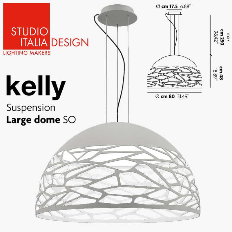 3d model of studio italia design kelly