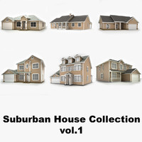 Hi-poly cottages collection vol.1