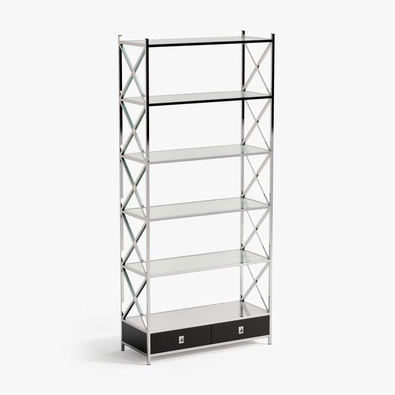 cabinet vanderbilt 3d model