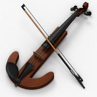 3ds max electric violin