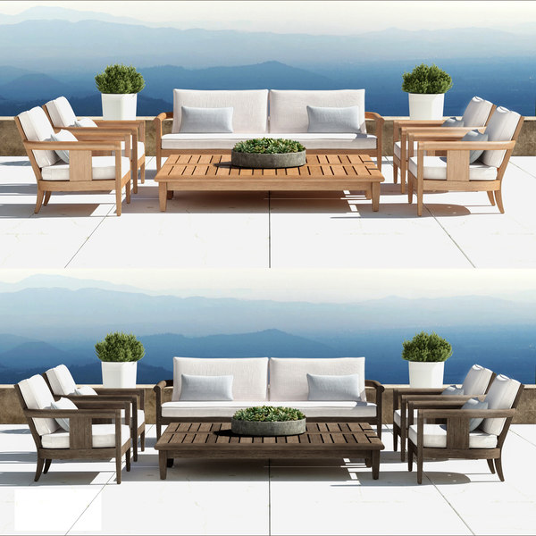 outdoor furniture coronado 3d model