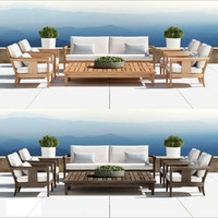 outdoor furniture coronado 3d model