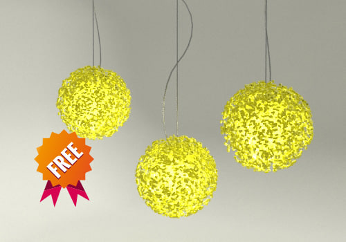 free modelled ango light 3d model