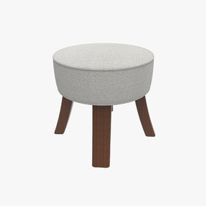 stool cloth pillow 3d model