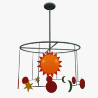 kids room chandelier lighting max