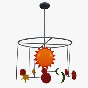 kids room chandelier lighting max
