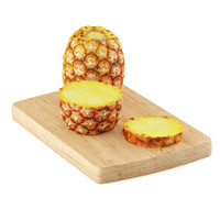 pineapple half slice 3d model