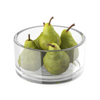 pears glass bowl 3d max