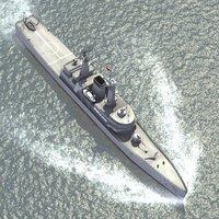 van class frigate 3ds
