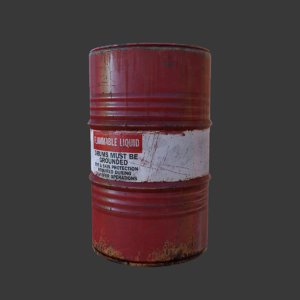 flammable barrel lwo