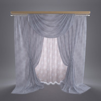 curtain interior 3ds