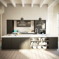 3d model kitchen interior
