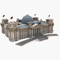parliament reichstag 3d 3ds