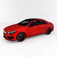 mercedes-benz cla45 amg 3d model