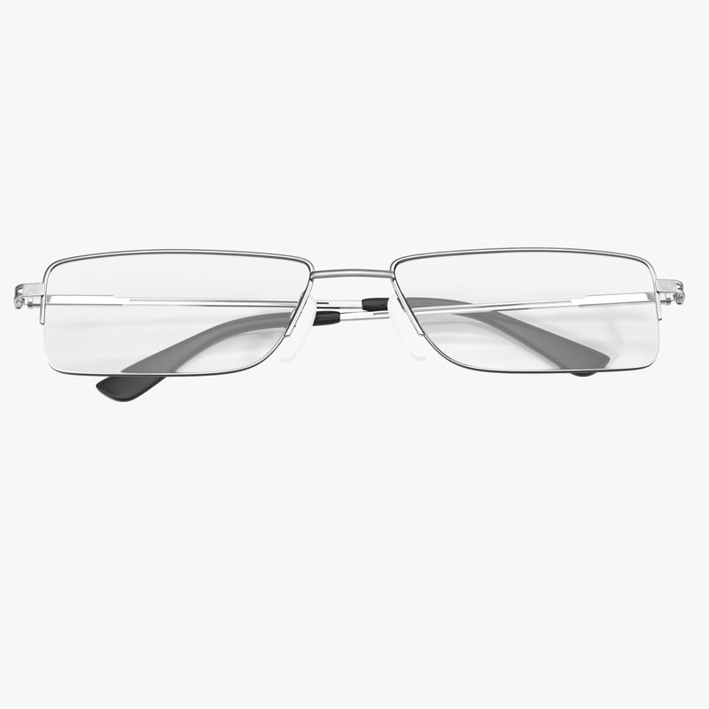 3d model glasses 6 folded