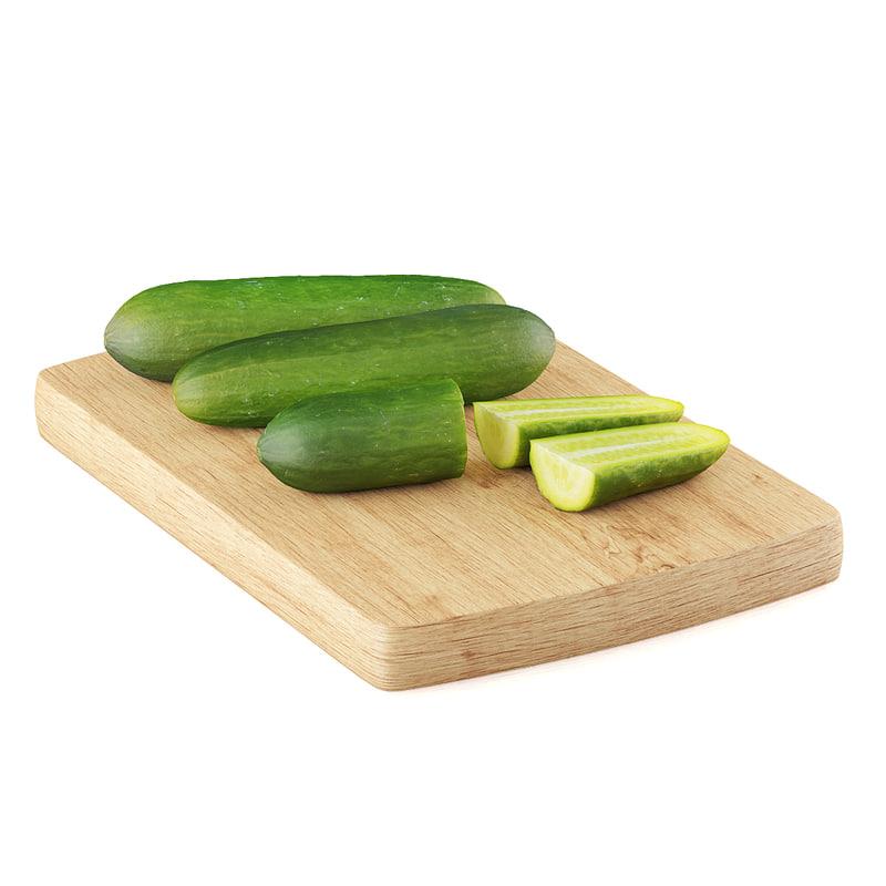 cucumbers half quarters max