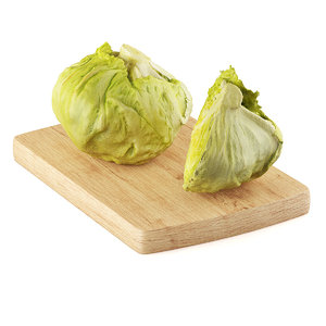 half lettuce 3d max