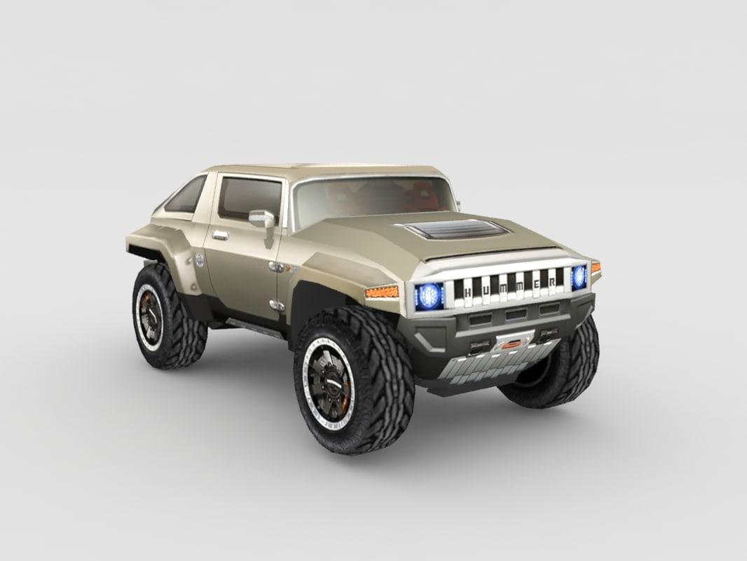 3d hummer gaming model