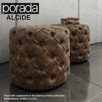 alcide pouf porada 3d max