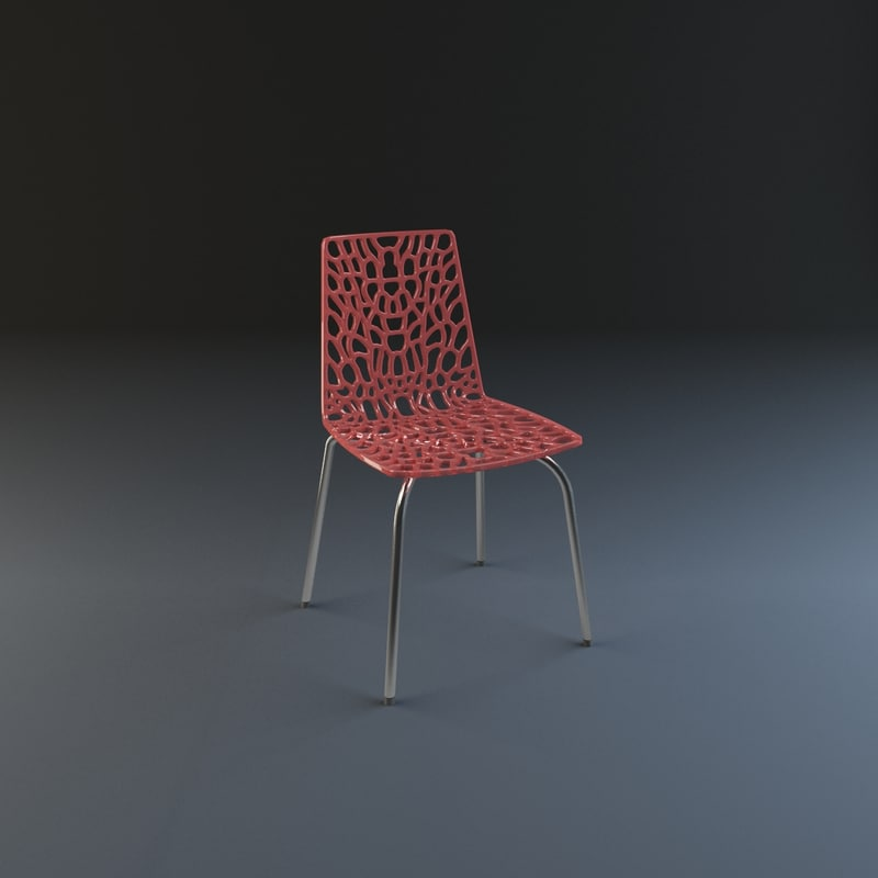3ds web chair