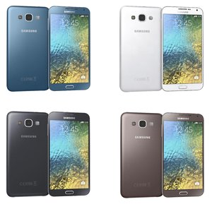 3ds max samsung galaxy e5 colors