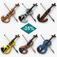 set electric violins max