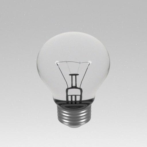 3ds light bulb lightbulb