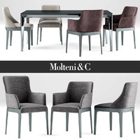 chair and table Chelsea Molteni &