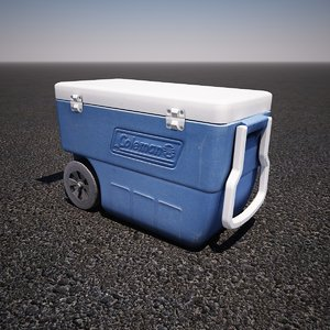 3d portable cooler