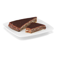 chocolate wafer 3d model