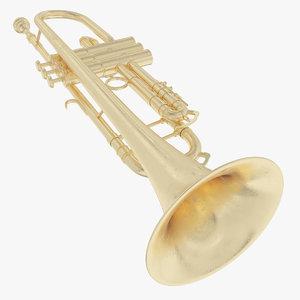 3d trumpet model