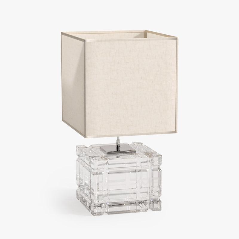 table lamp academia 3d max