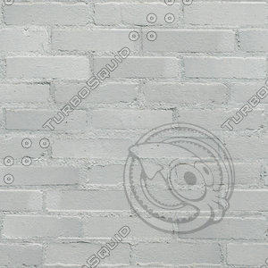 Seamless White Brick Wall Texture