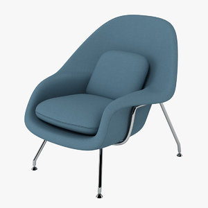 3d eero s womb chair