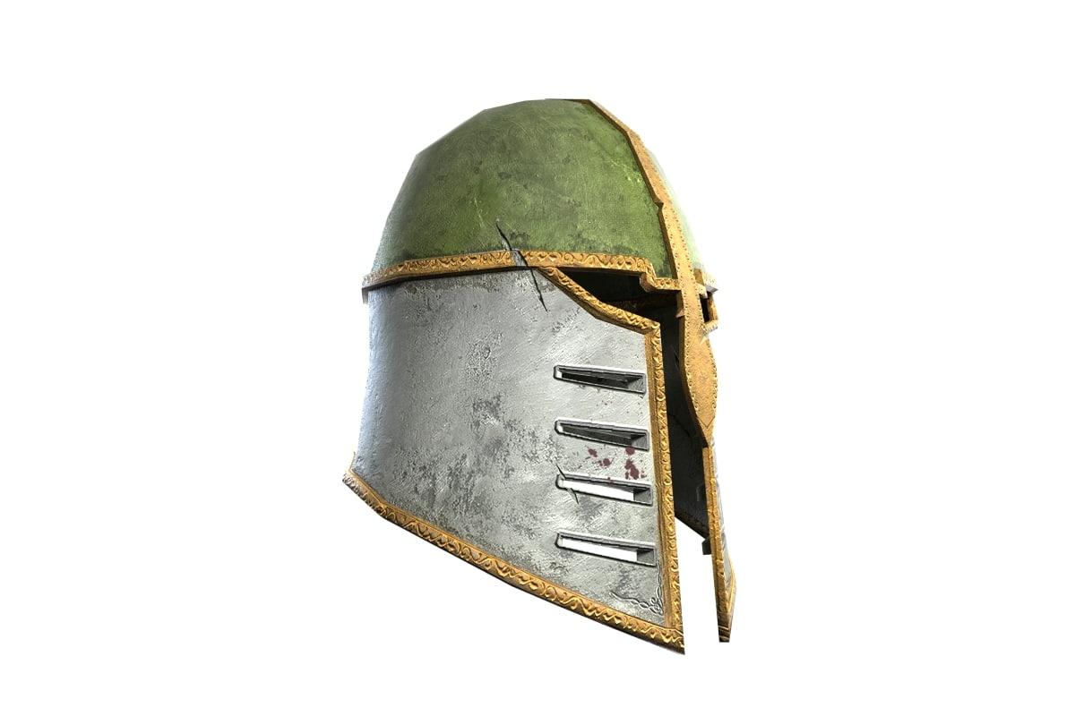 metal helmet 3d max