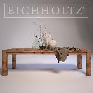 3d model eichholtz table