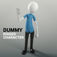 character rigged 3d model