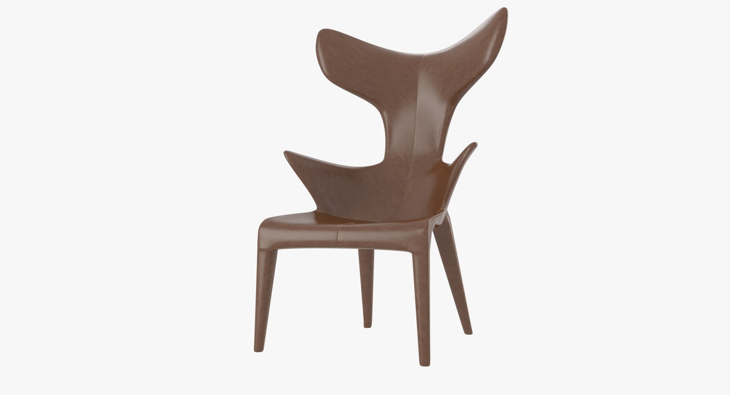 chair philippe starck 3d 3ds