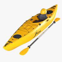kayak 3d c4d