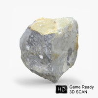 scanned rock realistic 3d 3ds