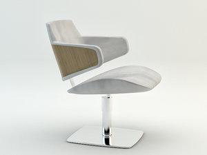 green hug 3175 chair 3d model