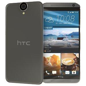 htc e9 3d model