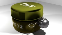 3d landmine anti-personnel blast
