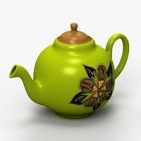 3ds max coffee pot