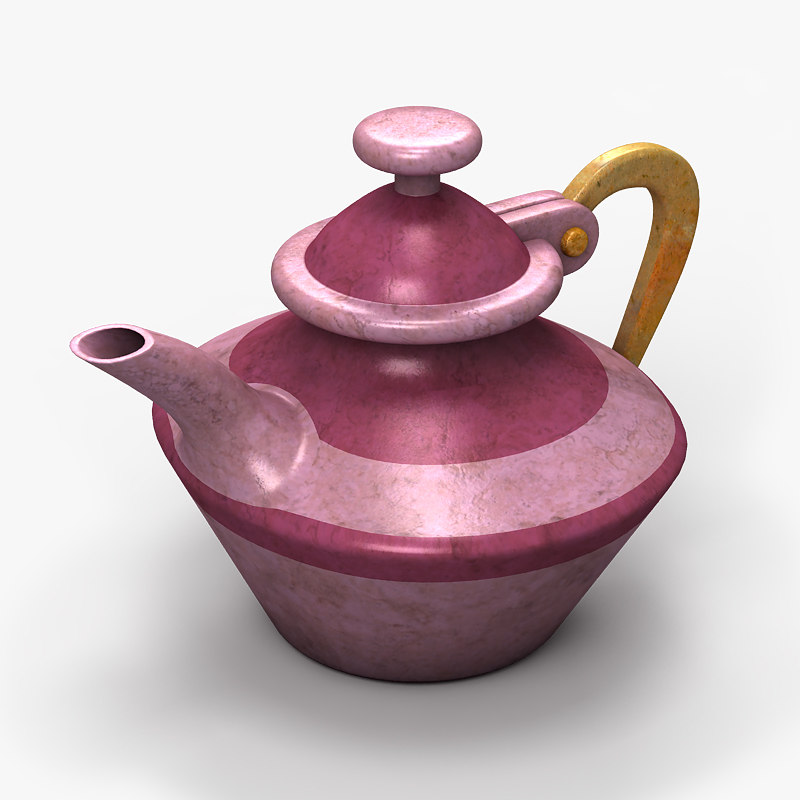 3d model of coffee pot