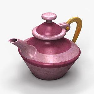 3d model of coffee pot