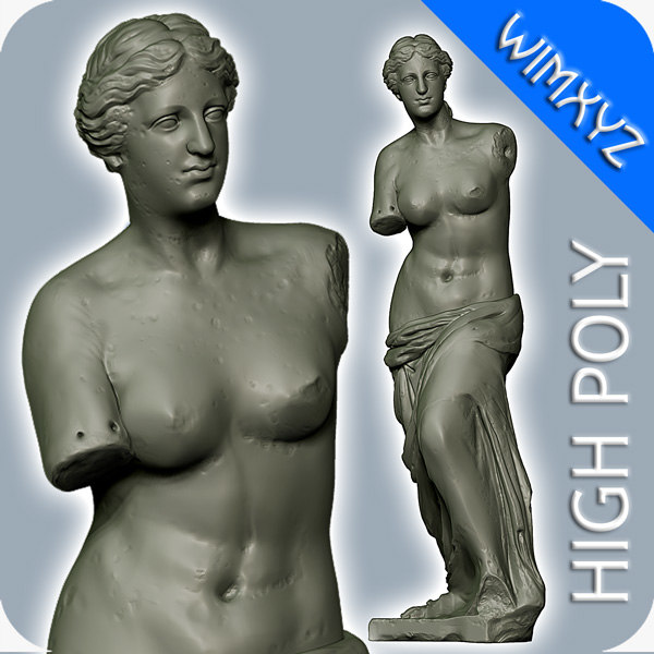 obj venus milo sculpture
