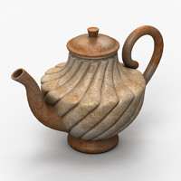 coffee pot 3d max