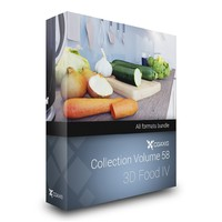 3D Food IV - CGAxis Collection Volume 58
