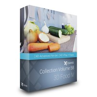 3D Food III – CGAxis Collection Volume 56 C4D